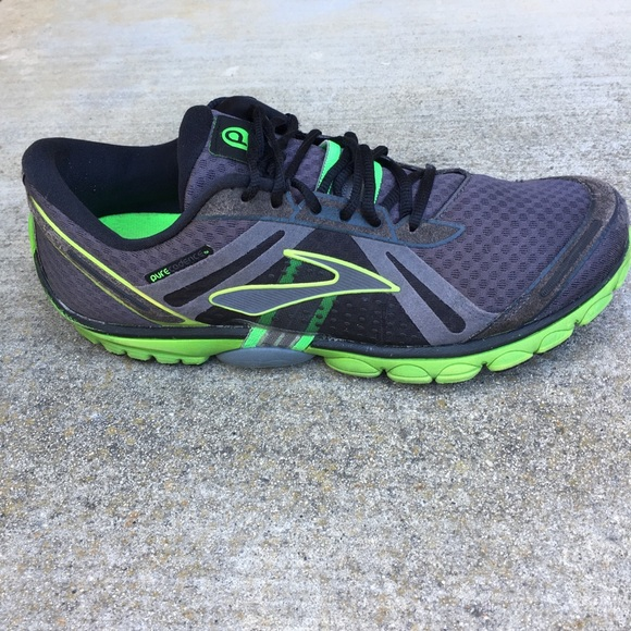 7d20a6e2ac73d Brooks Other - Brooks Pure Cadence Black Green Gray Running Shoe